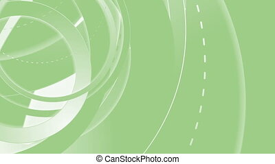 Green abstract tech minimal video animation - Green abstract...