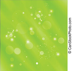 Green abstract template background