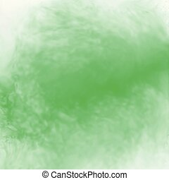 green abstract watercolor background texture