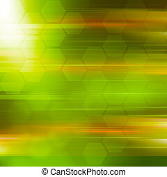 Green abstraction  background