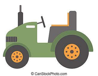 Green agricultural machinery