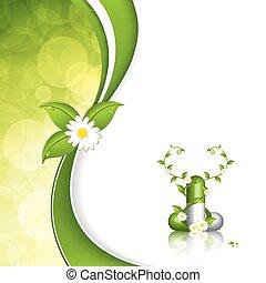 Herbal pill - Green alternative medication concept - Herbal...