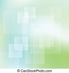 Green and blue abstract light vector background