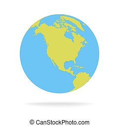 Green environment apps world background eco friendly iphone green and blue cartoon world map globe vector illustration gumiabroncs Image collections