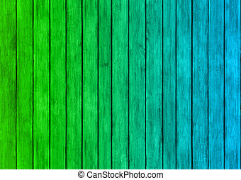 green and blue wood panels texture background - green and...