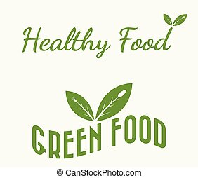 green and healthy food