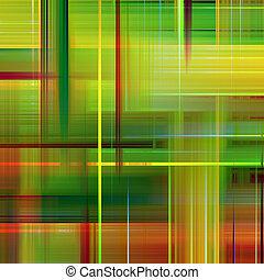 Green and orange vibrant colors abstract pattern background.
