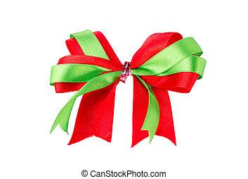 satin ribbon gift bow