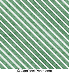 Green and White Striped Pattern Repeat Background that is...