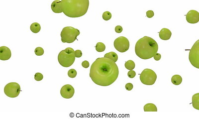 green apple - Alpha - Zdepth