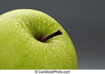 apple - green apple close-up