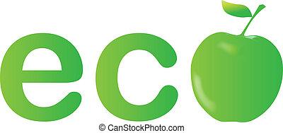 Green apple, ecology