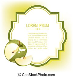 green apple frame