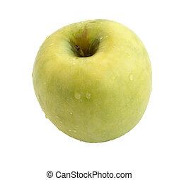 delicious fresh green natural perfect apple Semirenko
