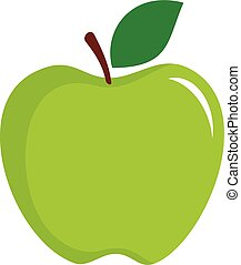 Green Apple vector logo template Illustration Design. Vector EPS 10.