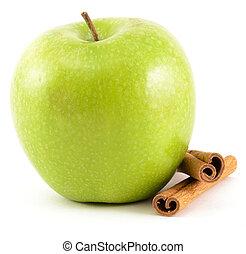 Green Apple with Cinnamon