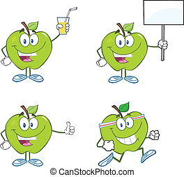 Green Apples Characters Collection