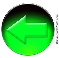 Green arrow looking left