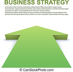 Green arrow pointing forward
