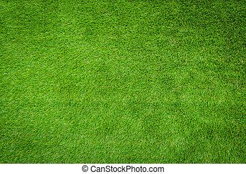 Green artificial grass . - Green artificial grass