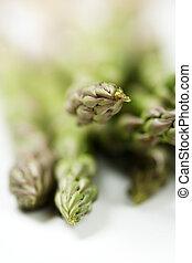Green asparagus - A bunch of green asparagus (shallow DOF)