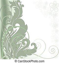 Green asymmetric background