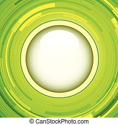 Green background - Abstract green background - 3D swirl