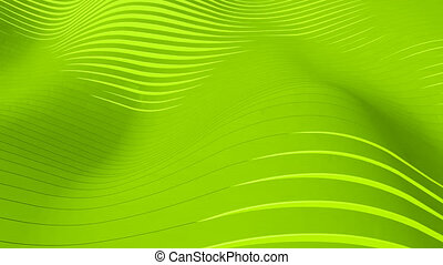 Green background - Beautiful green background with wawes