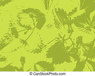 Green background grass organic vector texture. Illustration.