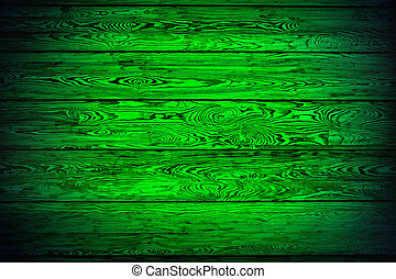 green background of boards