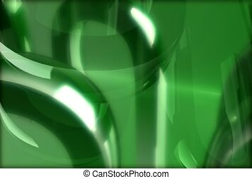 green, background, reflective