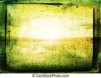 Green Background - Abstract Background