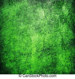 Green background with elegant vintage texture
