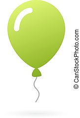 Green balloon icon