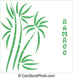 Green bamboo t