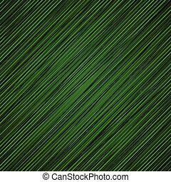 green banded background.
