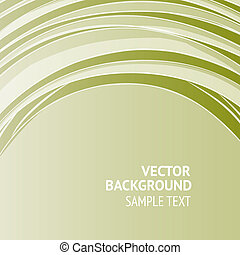 Green Banner - Green banner, ready for your message. Vector...