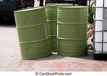 Barrels - Green Barrels