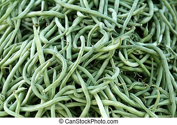 green beans stack market shop texture