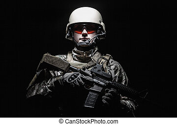 US Army Special Forces Group soldier