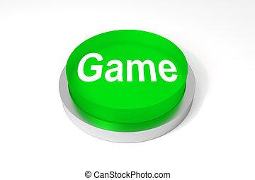 green big round button game