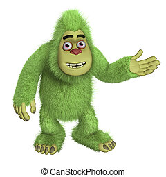 green bigfoot