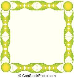Green bio frame.