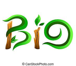 Green bio word