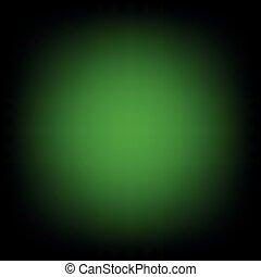 Green Black Gradient Blur Empty Space Background.