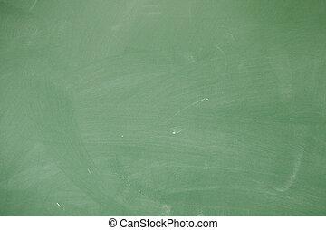 Green blackboard - Closeup of blackboard as an abstract...
