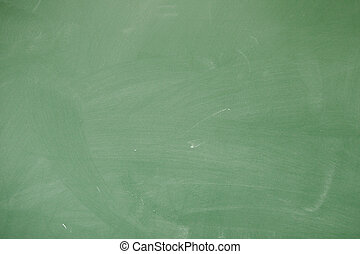 Green blackboard - Closeup of blackboard as an abstract...