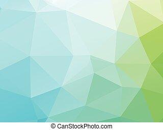 green blue background