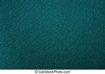 green-blue felt texture for background