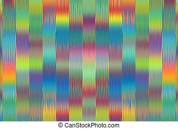 green blue pink red and yellow painting lines pattern abstract background